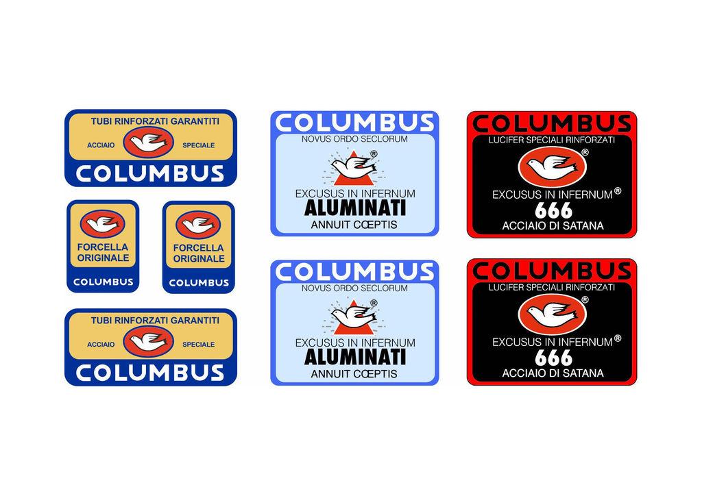 Columbus KL Frame Decal