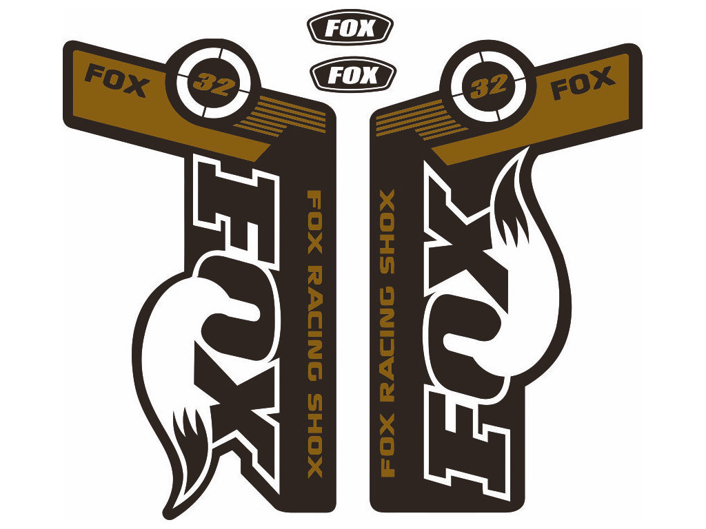 Fox 32 forks suspension factory style decal kit sticker adhesive anyone who loves bicycles is our friend buycottarizona Gallery