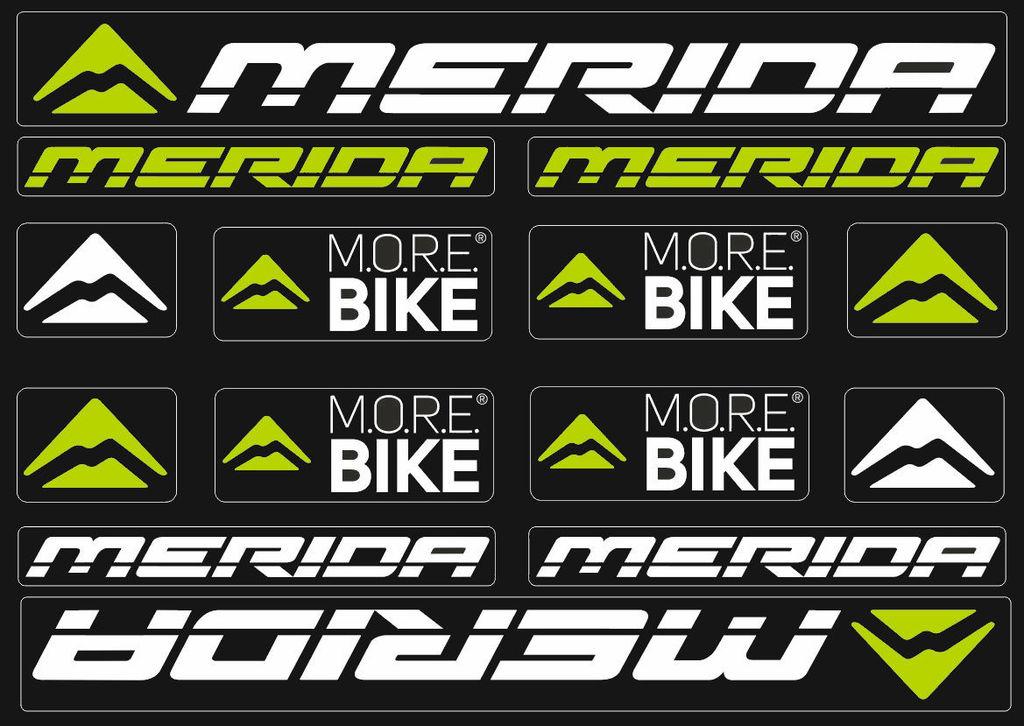 MERIDA-Route de cadre de vélo Autocollants-Vinyl Decals