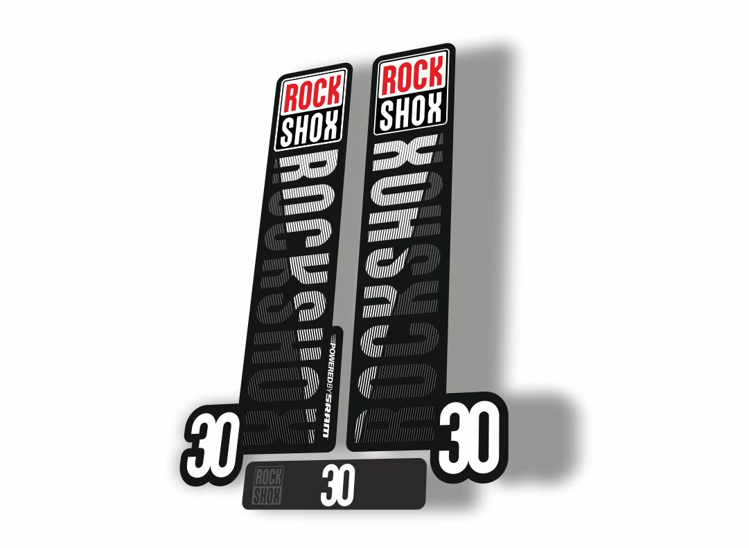 Rock Shox JUDY 2018 Fork Decal Mountain Bike Cycling Sticker Adhesive Black