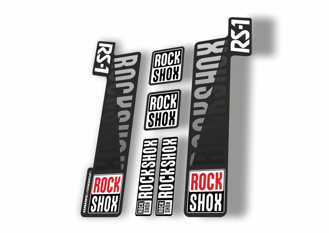 Rock Shox RS1 2018 Fork Decal Mountain Bike Cycling Sticker Adhesive Green